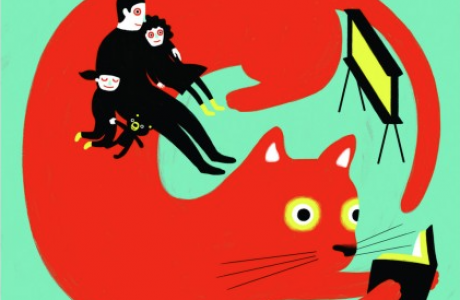 """LA Times article by Lauri Mattenson: """"Best advice I ever got for dating a guy with kids: Be like a cat, not a dog"""""""
